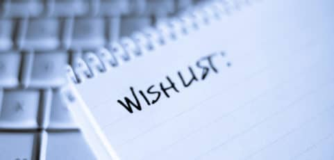 Nonprofits – Have you completed your Wish List yet?